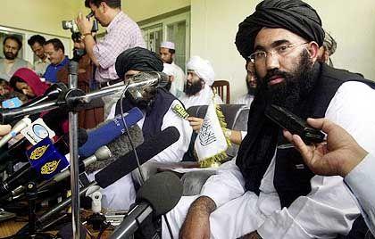 Taliban-Botschafter Abdul Salam Saif droht den USA