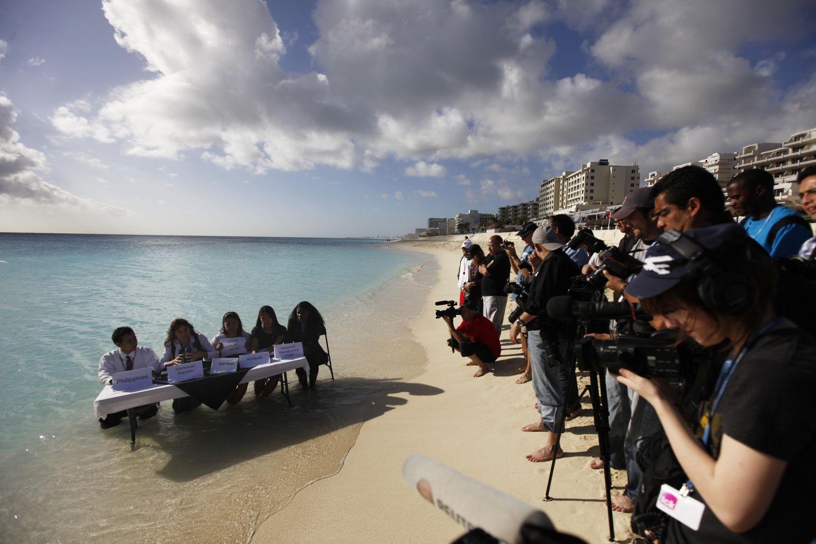 Mexico Klima Protest