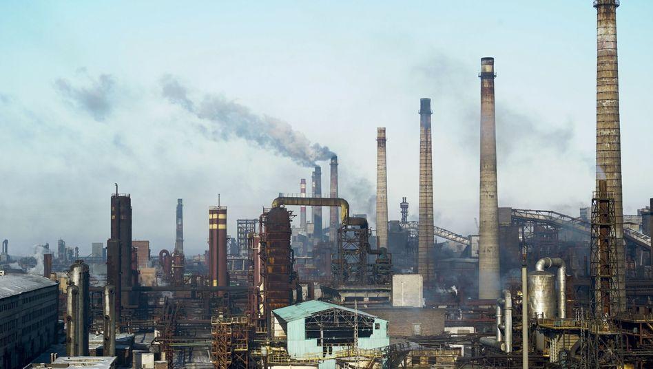 Fabriken in der Ostukraine