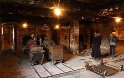Panoptikum des Todes: In den Krematorien des Todeslagers wurden mehr als eine Million von den Nazis ermordete Menschen verbrannt