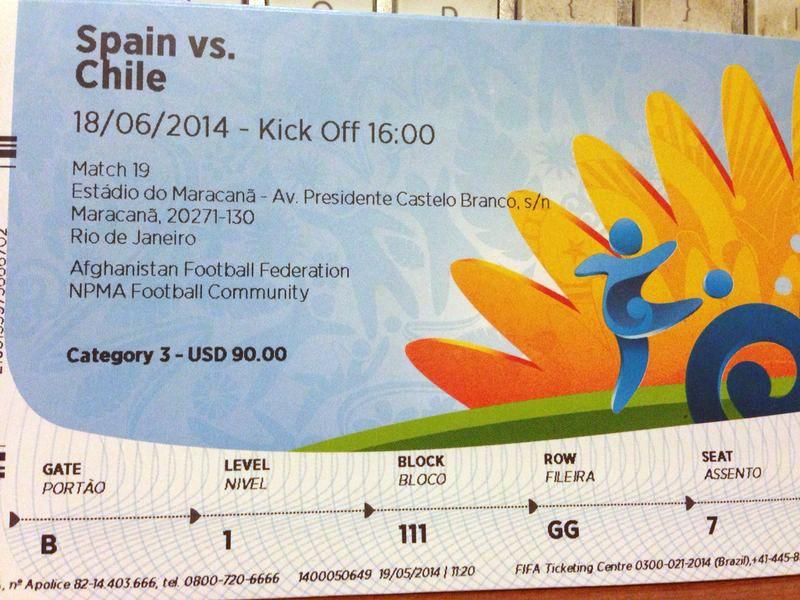 Ticket Spanien Chile