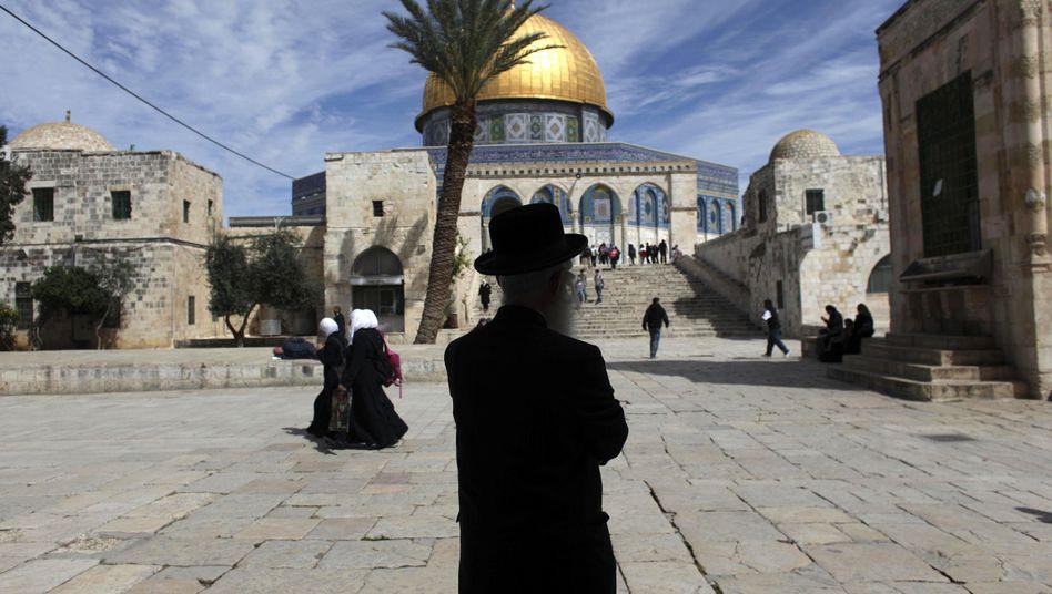 """Ultra-orthodoxer Jude vor der al-Aksa-Moschee: """"Wir sind kein Volk"""""""