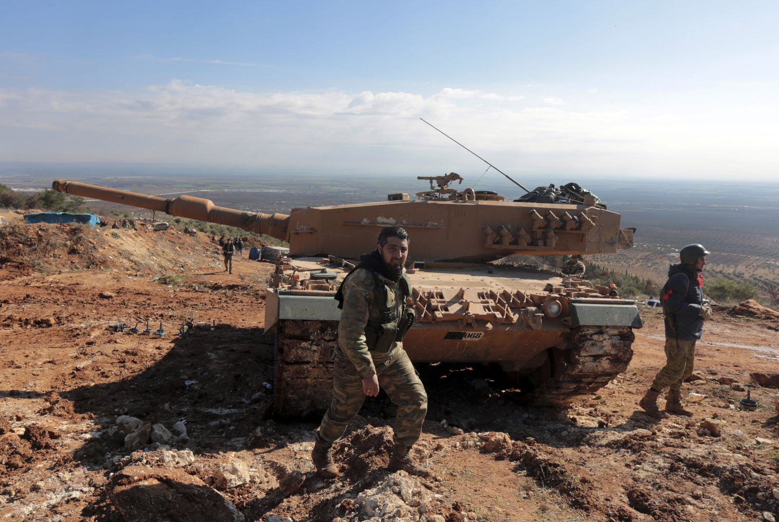 Syrien/ Türkei/ Panzer/ Leopard