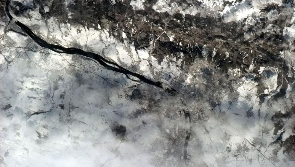 Fotos von der ISS: Deutschland von oben