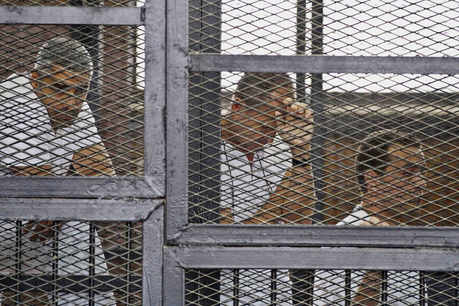 Mohammed Fahmy, Peter Greste, Baher Mohamed