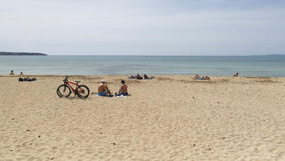Leer am Playa de Palma am 1. April