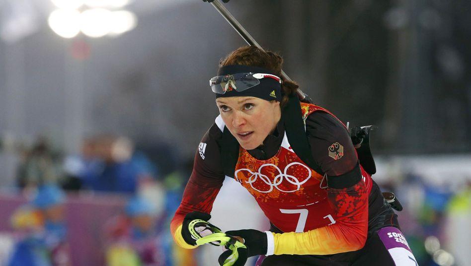 Biathletin Sachenbacher-Stehle: Doping war nicht bewusst