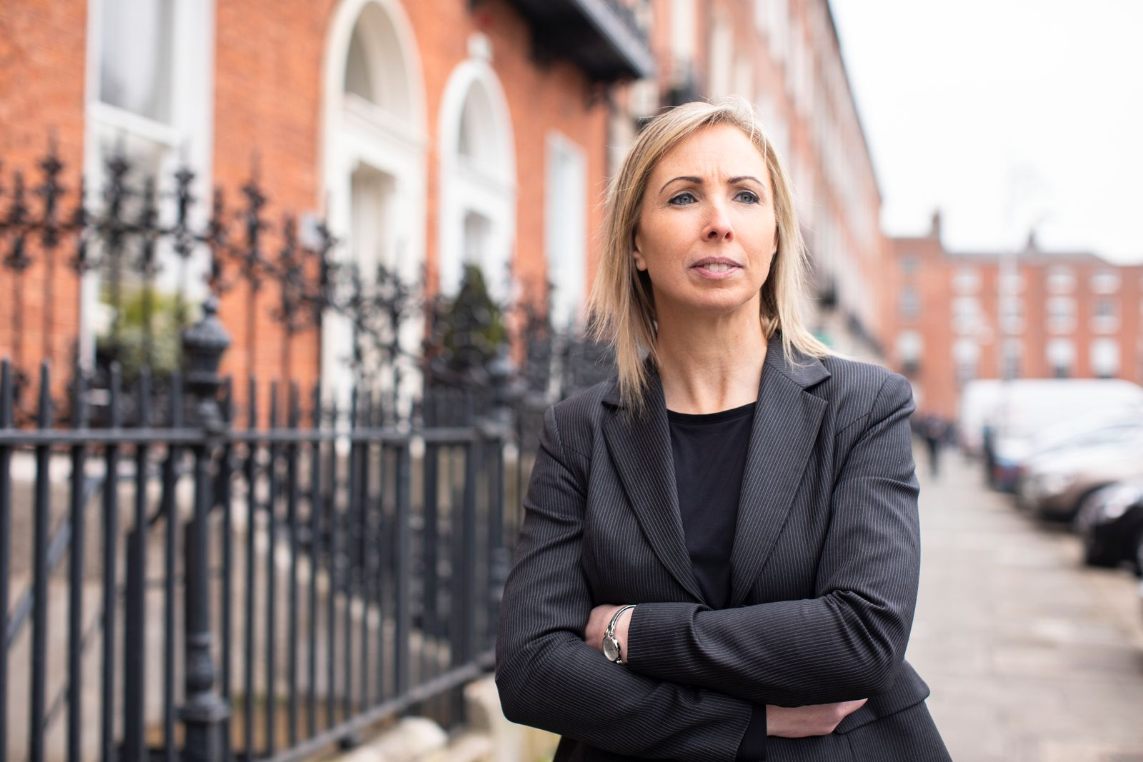 Portrait of Helen Dixon, Data Protection Commissioner for Ireland, photographed for article about Digital Privacy