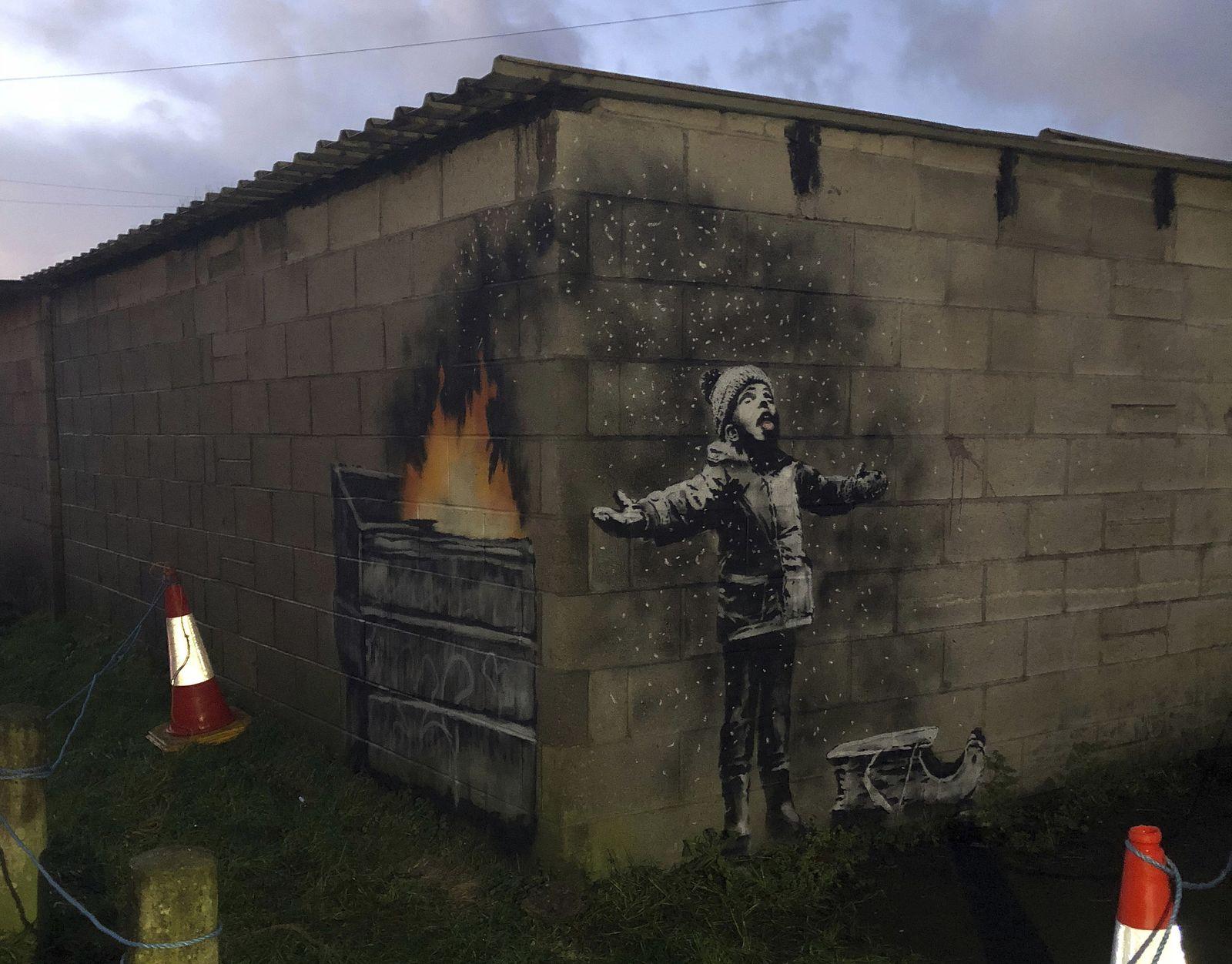 Neues Banksy-Werk aufgetaucht