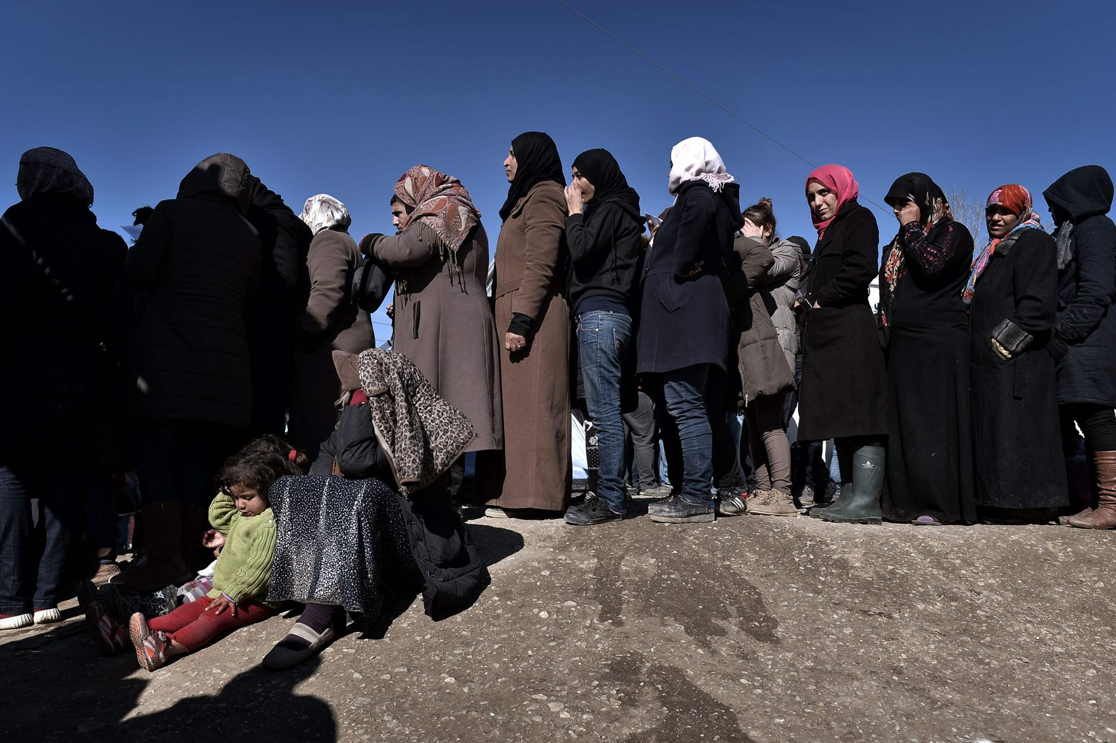 Griechenland Flüchtlinge Idomeni