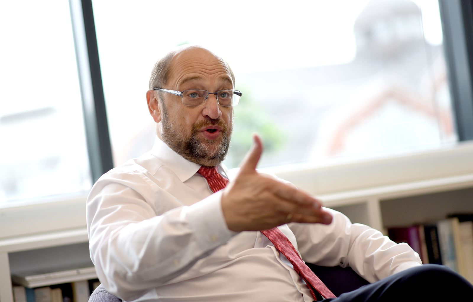 Martin Schulz/ Interview SpOn