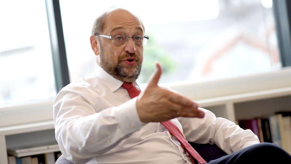 Chancellor candidate Martin Schulz