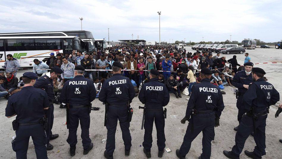 Österreichisch-ungarisches Grenzgebiet: Verstärkte Kontrollen