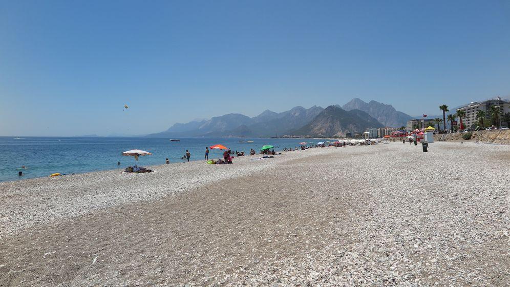 Touristen meiden die Türkei: Einsam am Strand