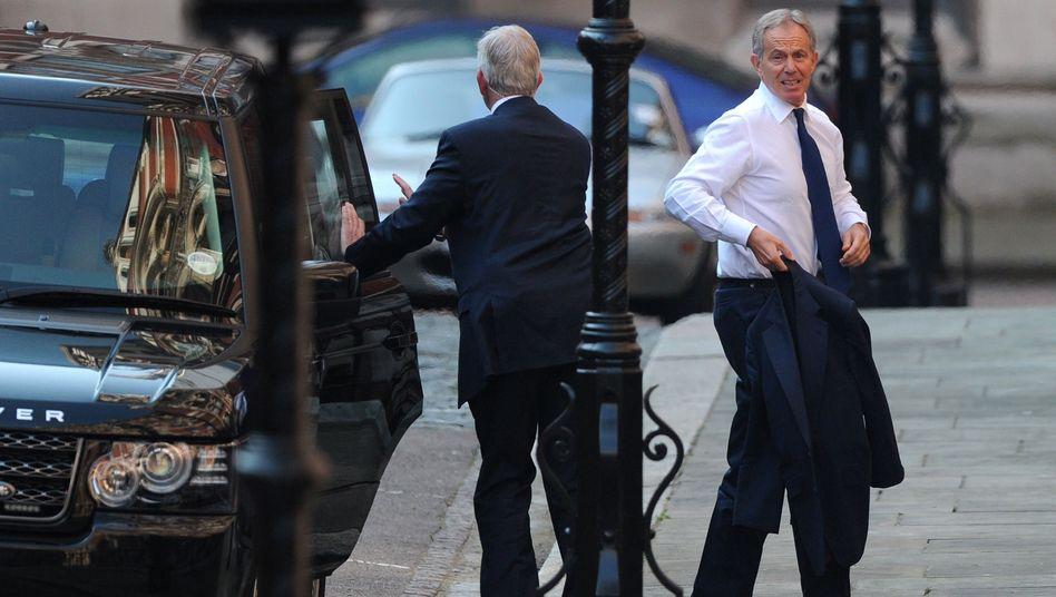 "Tony Blair kurz vor der Anhörung: ""Enge Verflechtungen sind unvermeidbar"""