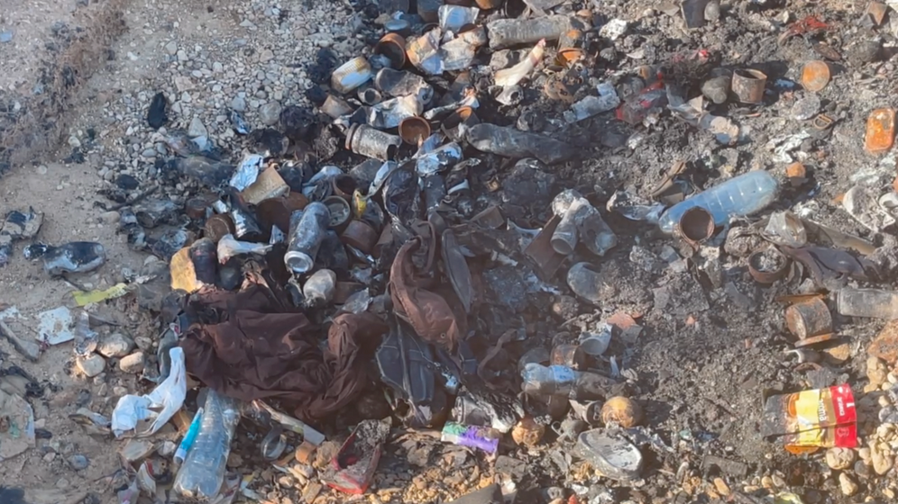 """Charred trash on the border: """"Not the decision of an individual police officer."""""""