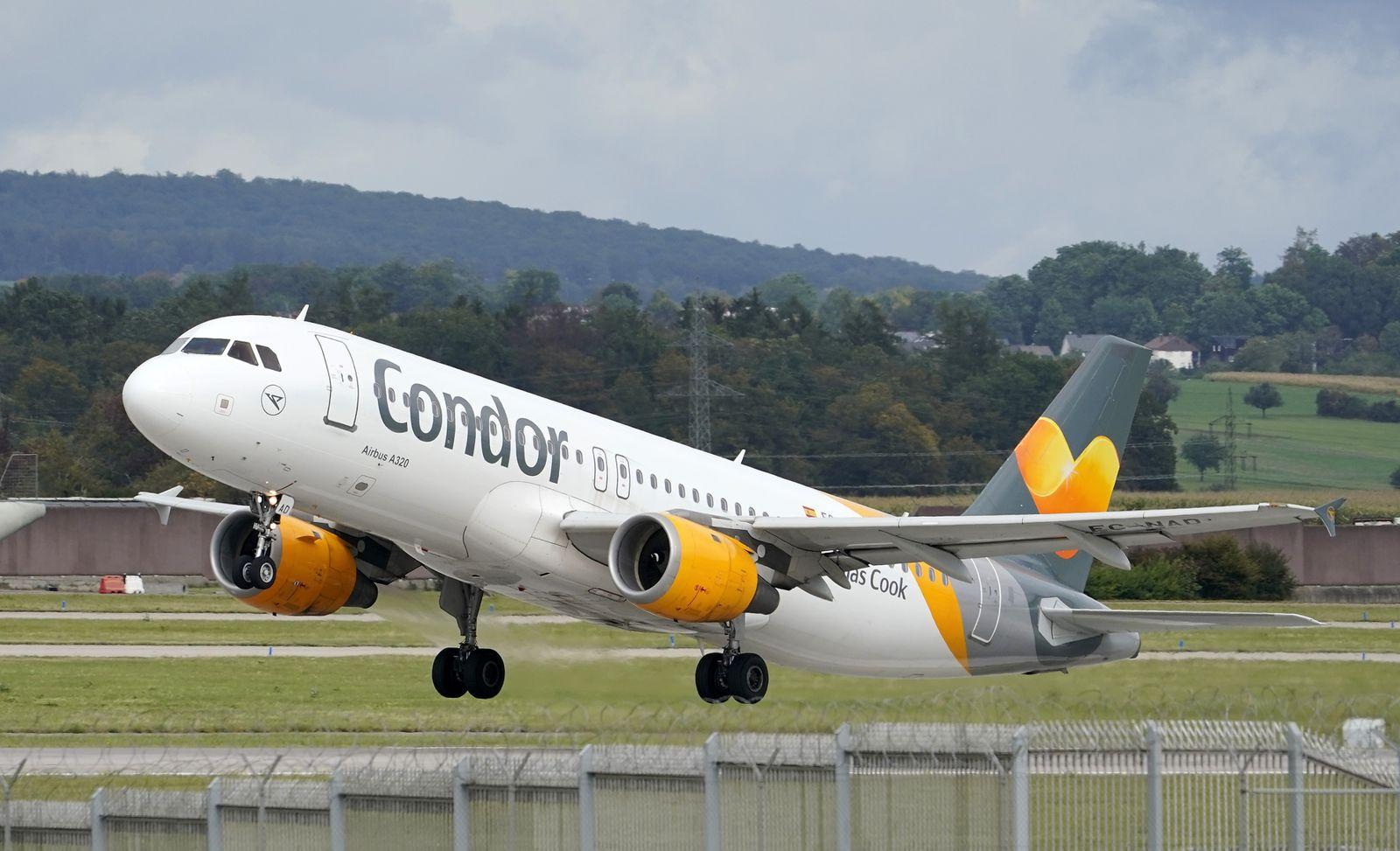 German charter airline Condor to receive additional financial aid, Leinfelden Echterdingen, Germany - 25 Sep 2019