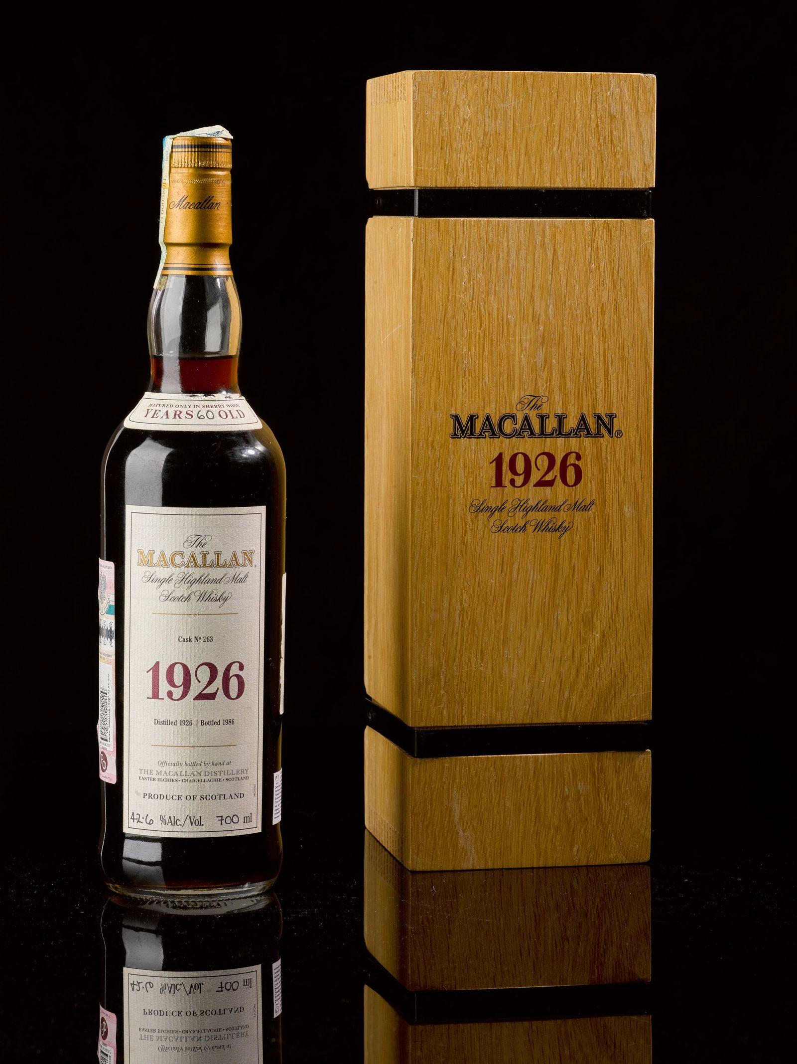 Flasche Scotch für 1,7 Millionen Euro versteigert