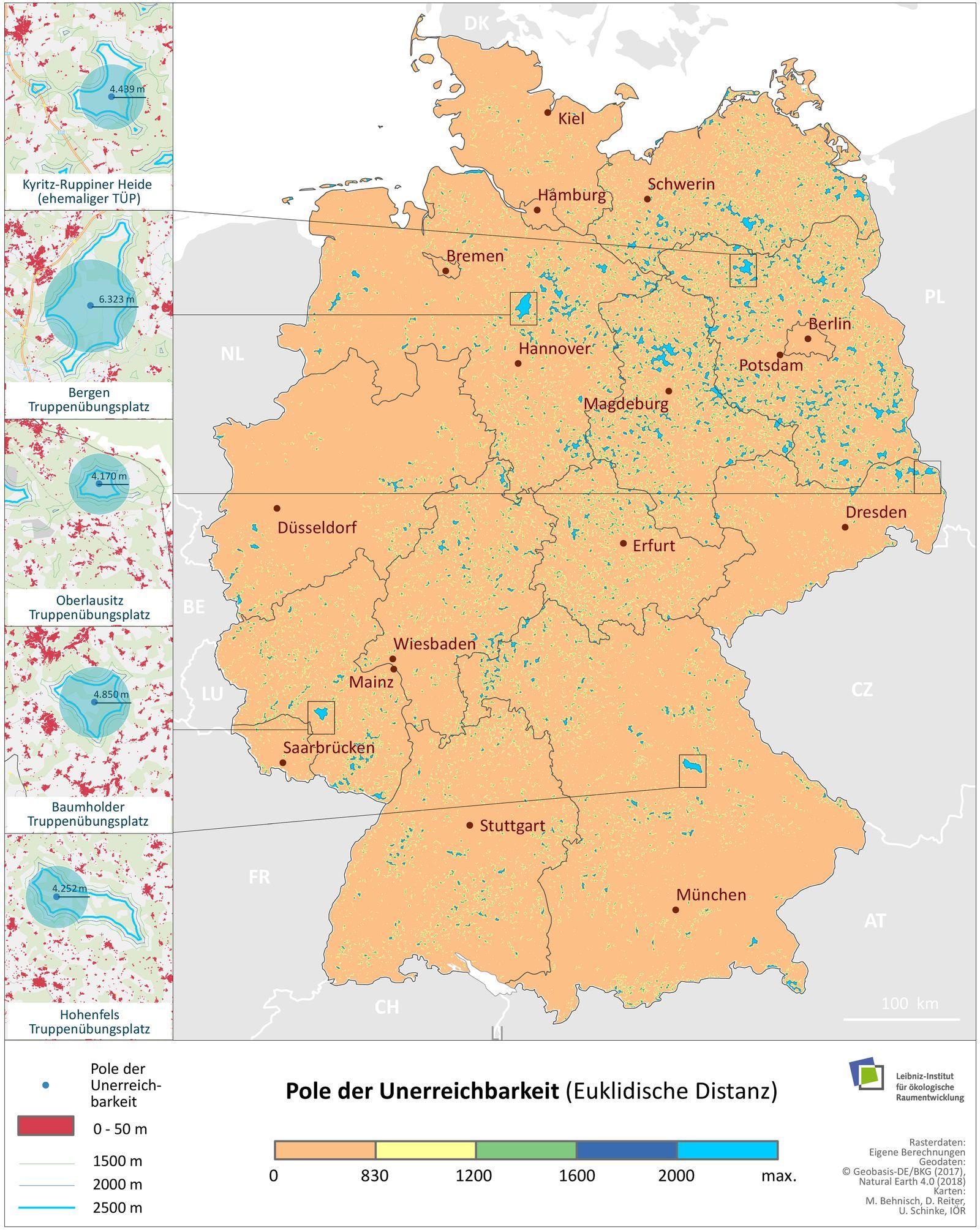 Wohnen in Deutschland: So nah ist das nächste Haus - DER SPIEGEL
