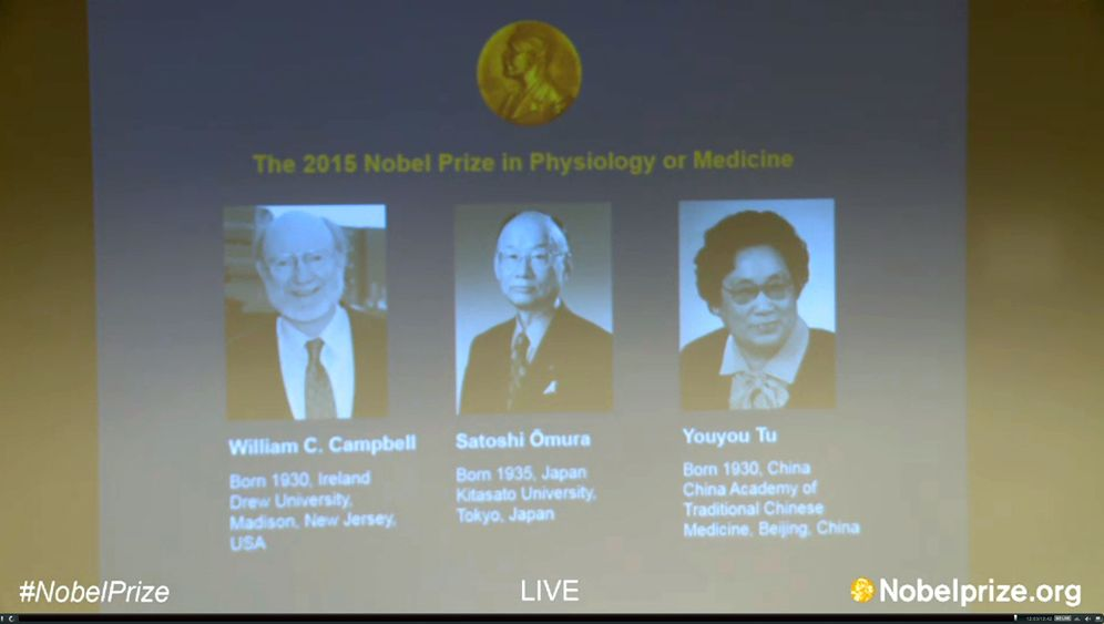 Forscherehrung: Nobelpreis für Parasitenforscher