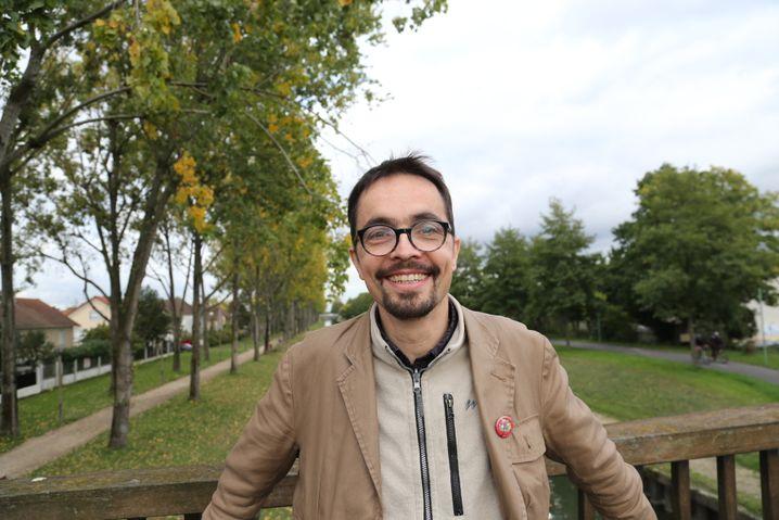 Blogger Hervé Suaudeau im Süden von Aulnay-sous-bois