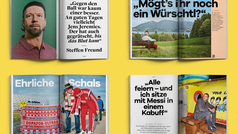 Fußball, Fußball, Fußball - in allen Facetten. Und das seit 20 Jahren