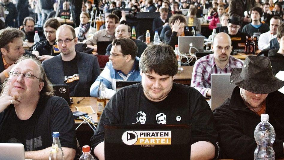 Männerwelt Piratenpartei: »Abgeschreckt vom Rüpelton«