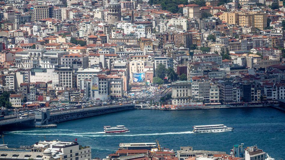 Erdogan-Plakat in Istanbul: Seit Jahren regieren seine Leute