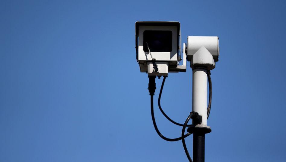 Überwachungskamera in Großbritannien