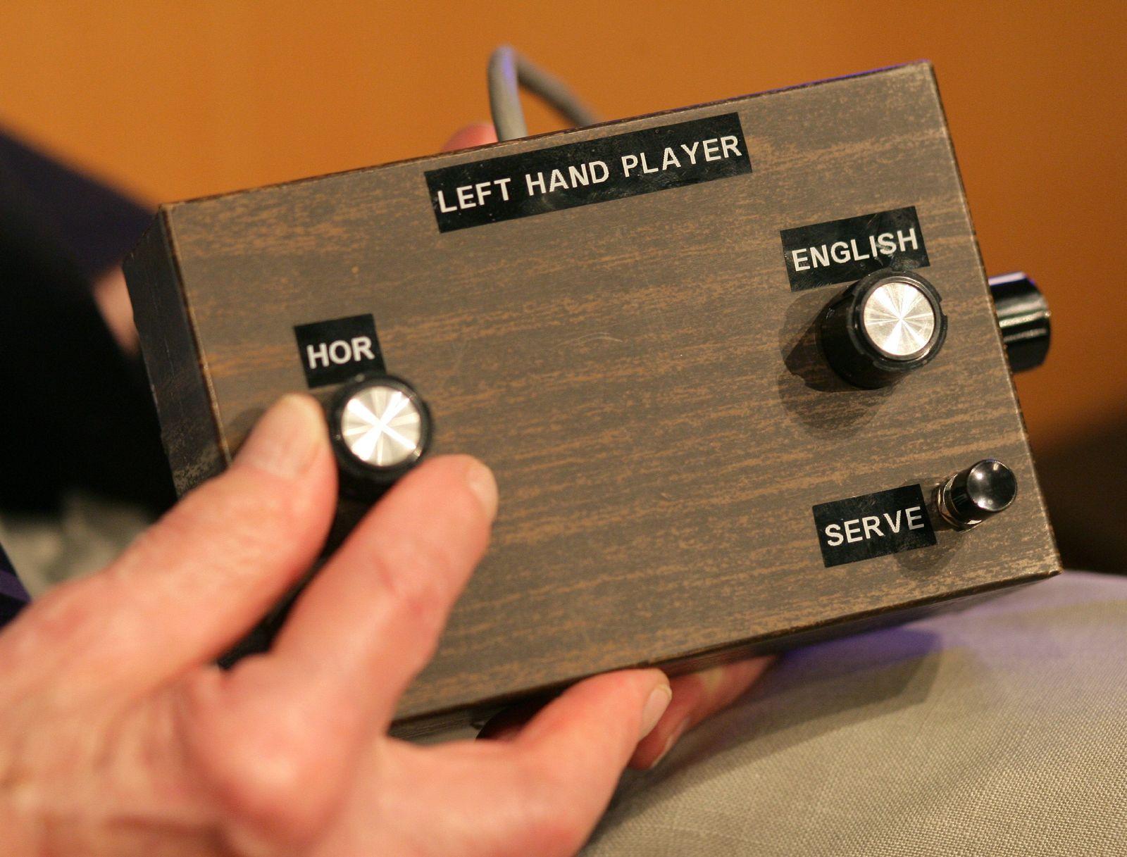 Prototyp der ersten Spielkonsole Odyssey