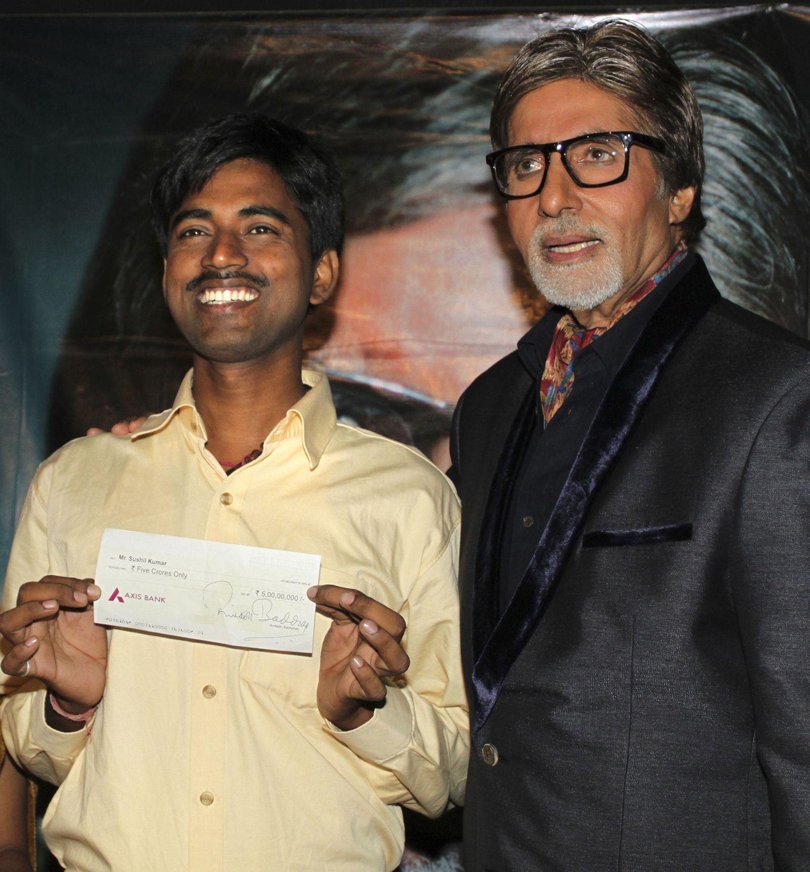 Sushil Kumar / Wer wird Millionär / Indien