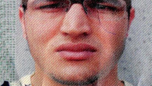 A police handout photo of terror supect Anis Amri