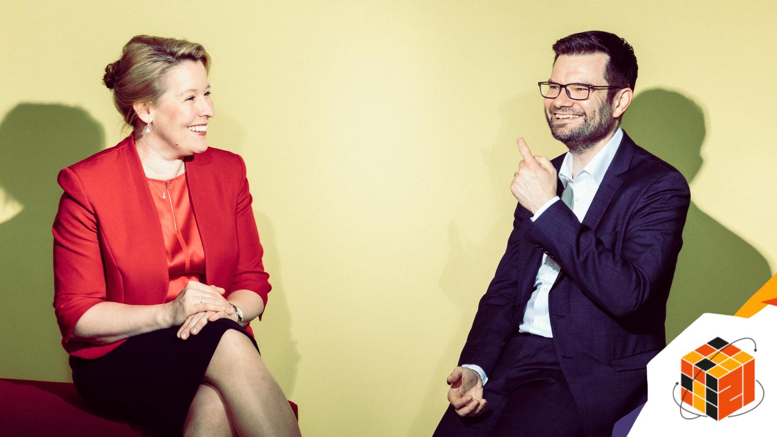 Marco Buschmann und Franziska Giffey