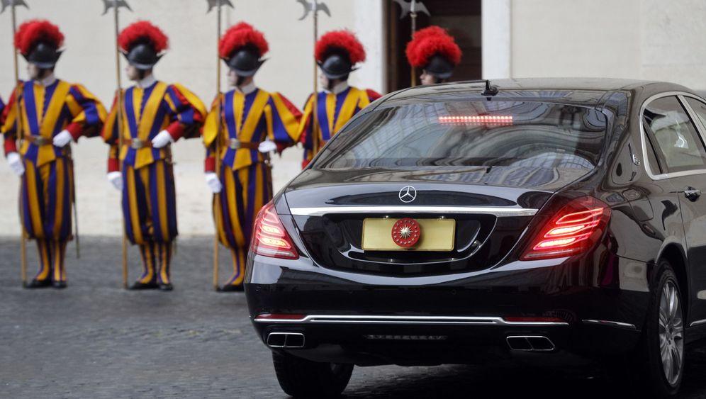 Papst Franziskus und Erdogan: Sicherheitsstufe eins am Petersplatz