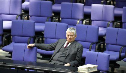 Hinterbänkler Schily: Der Ex-Innenminister tritt 2009 nicht mehr an.
