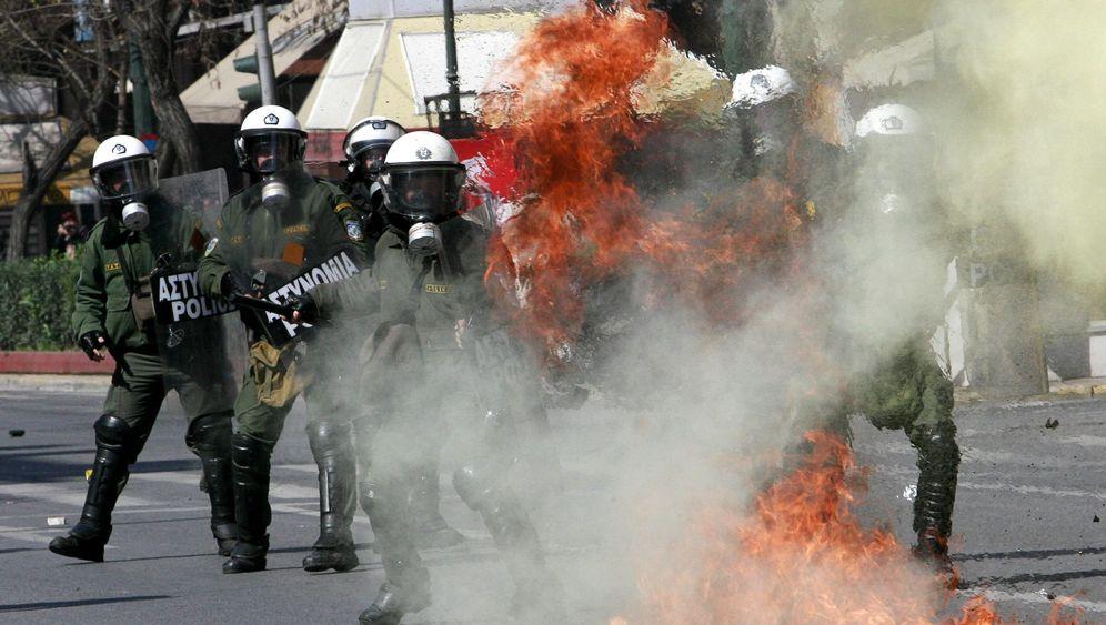 Generalstreik in Griechenland: Gewalttätiger Protest gegen die Regierung
