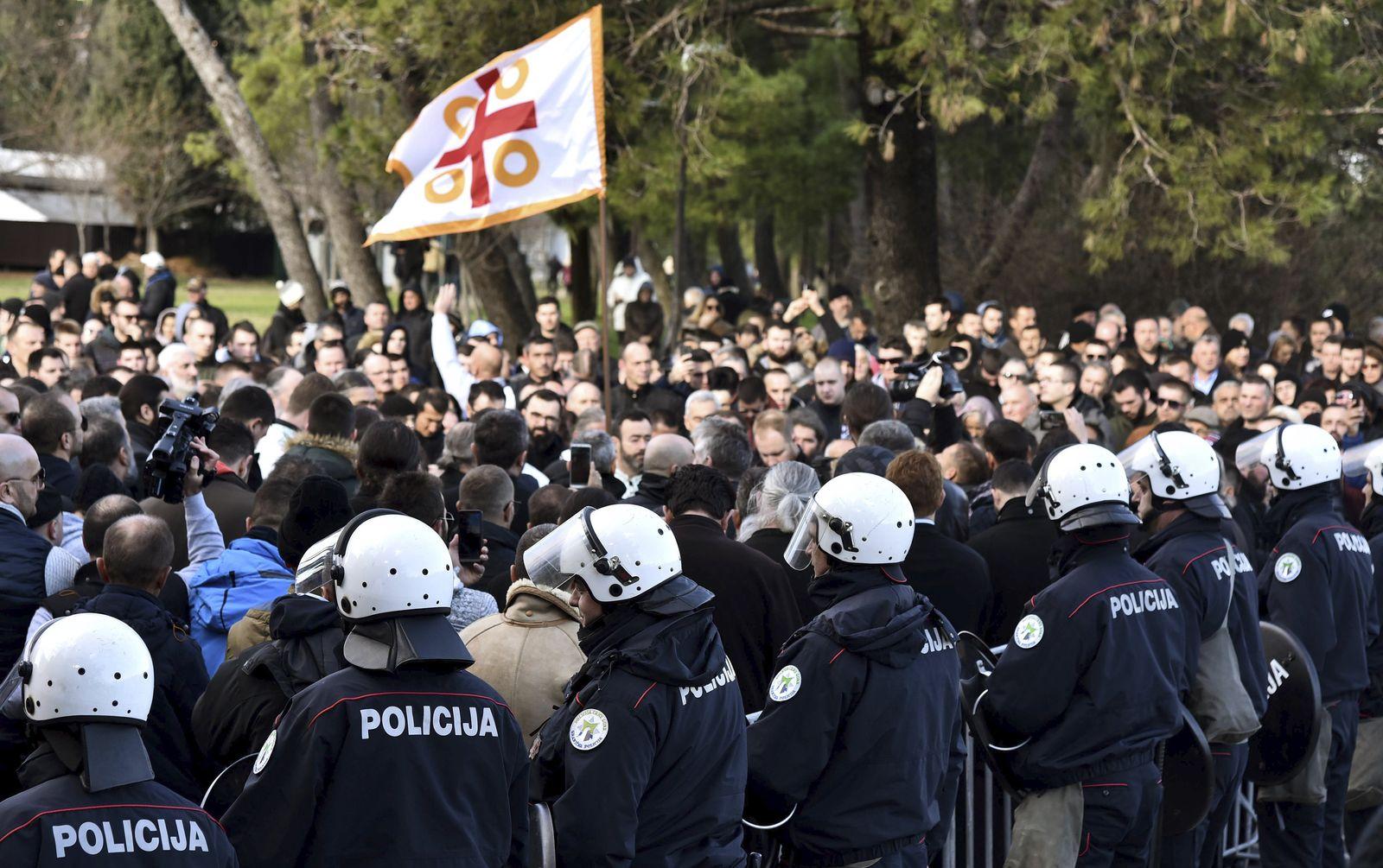 Montenegro Protest