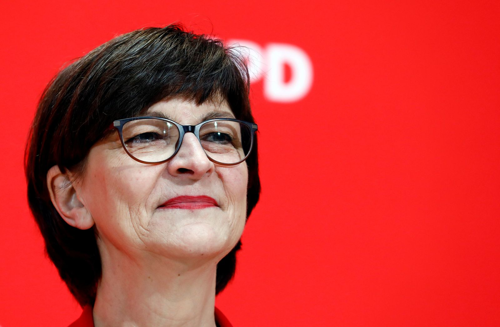 Germany's SPD reacts to the Hamburg state elections, in Berlin