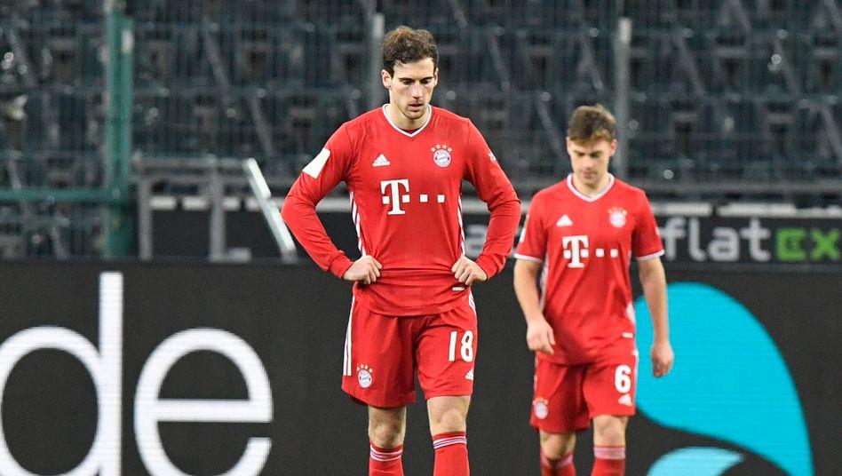 Leon Goretzka war enttäuscht: Drei einfache Ballverluste