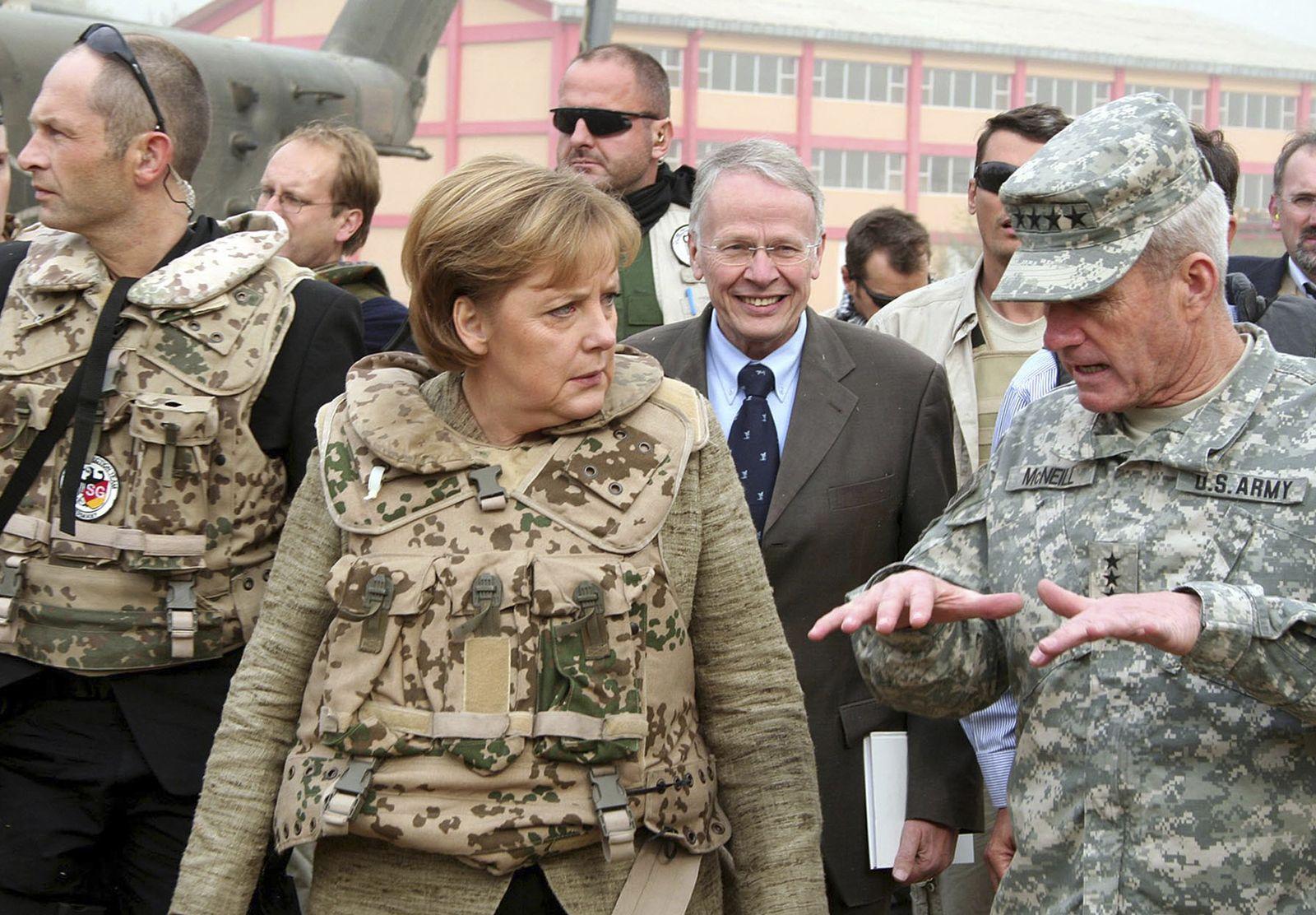 Tom Koenigs/ Angela merkel/ Afghanistan