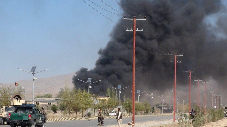 Anschlag in Gardez, der Hauptstadt der afghanischen Provinz Paktia