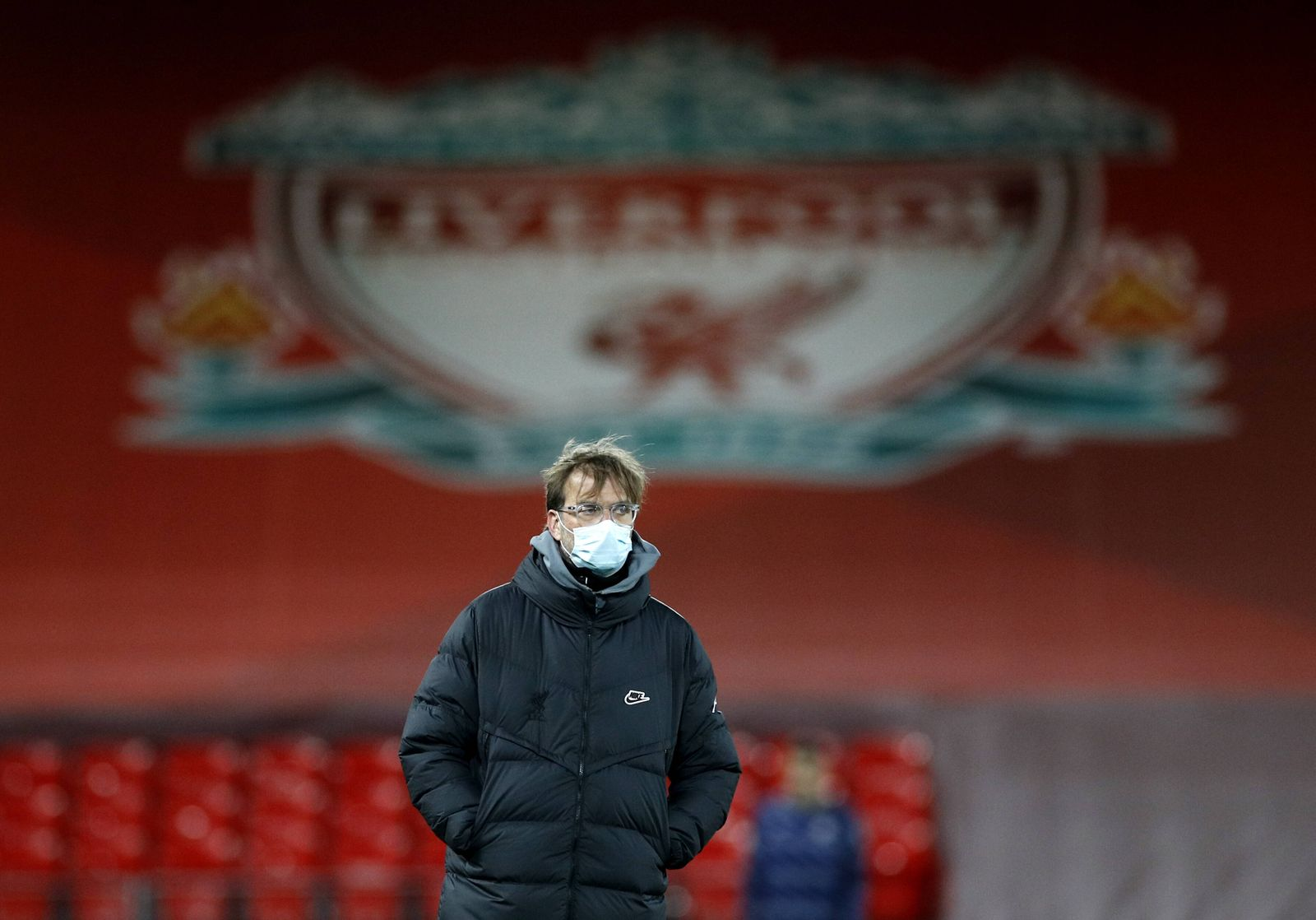 Liverpool v Chelsea - Premier League - Anfield Liverpool manager Jurgen Klopp prior to the Premier League match at Anfi