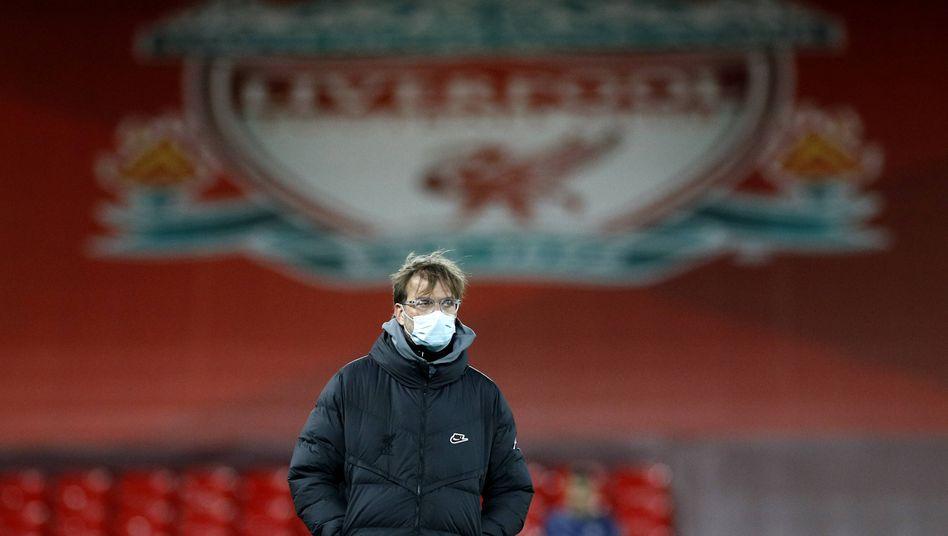 Jürgen Klopp und der FC Liverpool in der Krise