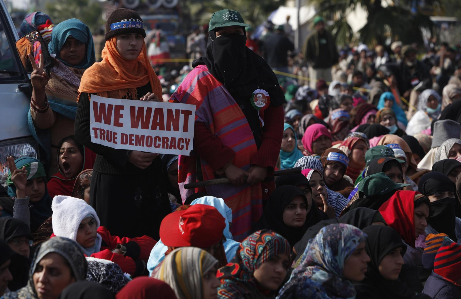 PAKISTAN-CLERIC-PROTESTS