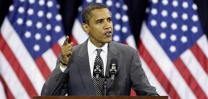 Demokrat Obama: Er profitiert von der Wirtschaftskrise - in den Umfragen