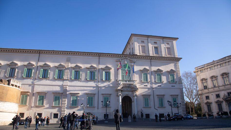 Amtssitz des italienischen Staatspräsidenten in Rom: Giuseppe Conte kennt den Quirinalspalast besser, als ihm lieb sein kann