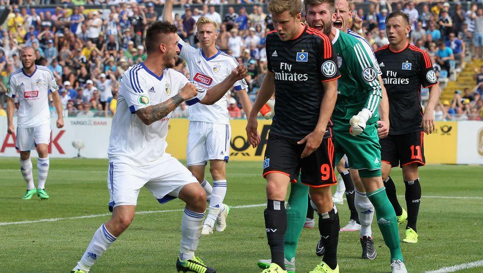 Blamage beim Regionalligisten: HSV scheidet im Pokal aus