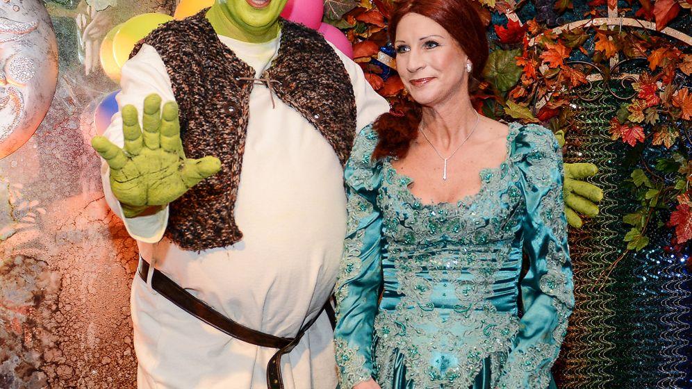 Söder auf der Fastnacht: Shrek lass nach