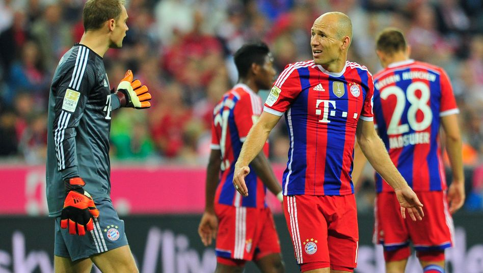 """Bayern-Stars Neuer, Robben: """"Für Manuel ein kleiner Nachteil"""""""