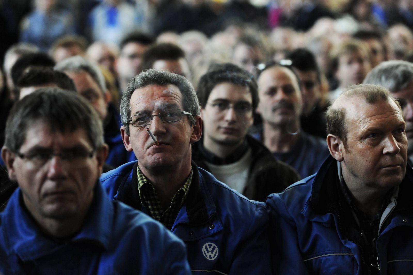 NICHT VERWENDEN Volkswagen-Betriebsversammlung
